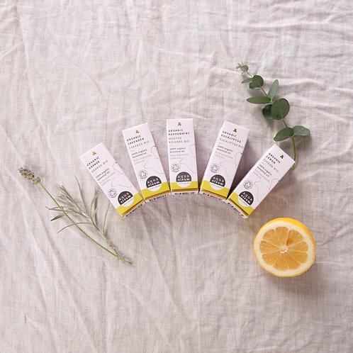 100% Pure Organic Essential Oils, 10ml