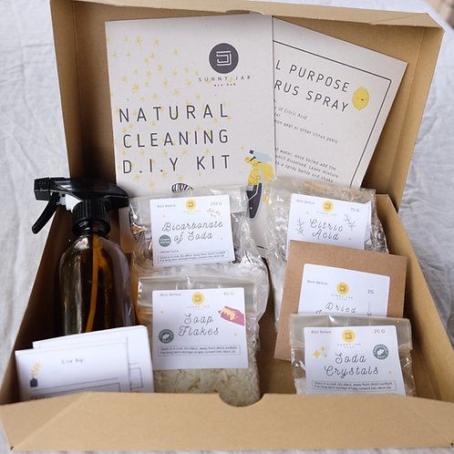 Full Sweep Natural Cleaning DIY Kit