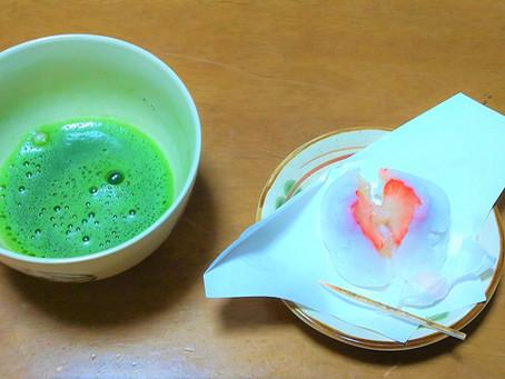 お抹茶の日