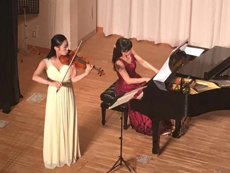 父の日コンサート「戦火をくぐり抜けたヴァイオリン」