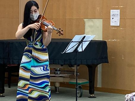 横山亜美さんのミニコンサート