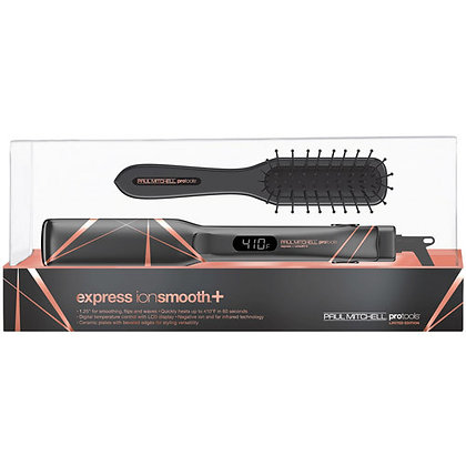 Limited Edition Metallic Grey Express Ion Smooth+ with Sculpting Brush