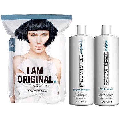 Original Shampoo and Detangler Liter Duo