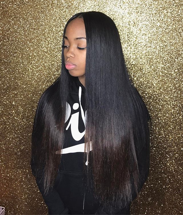 Flawless Quickweave install on my babe _heavenlyglamm ✨💕