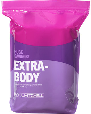 Extra Body Daily Shampoo and Conditioner Liter Duo