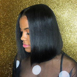 Always a SLAY!! Blunt Cut Quickweave install on my cousin _valencia