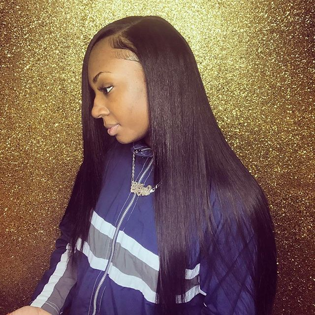 Catch this FLEEKY Traditional Sew-in Install 🔥
