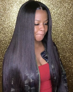 Traditional Sew in install 😩😍