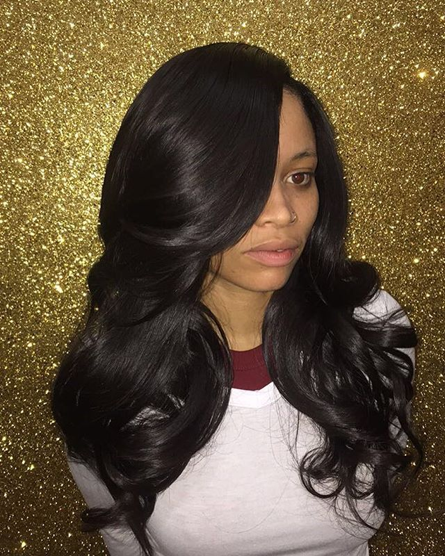 Flawless & Natural sew in install 😍 bookings available for this week!