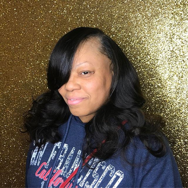 #NoFilterNeeded flawless Quickweave install on my one of my faves 😍