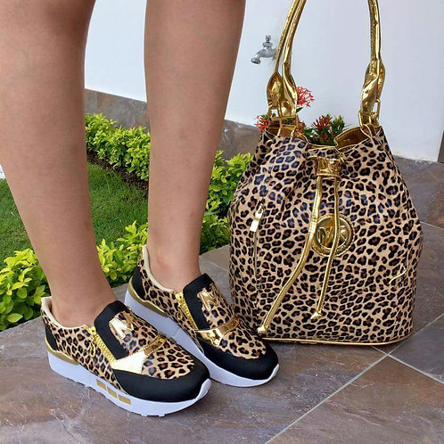 SET MK ANIMAL PRINT