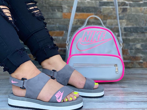 Set Nike sandalia