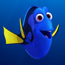 "Image of Dory, the blue tang from Disney Pixar's ""Finding Nemo"""