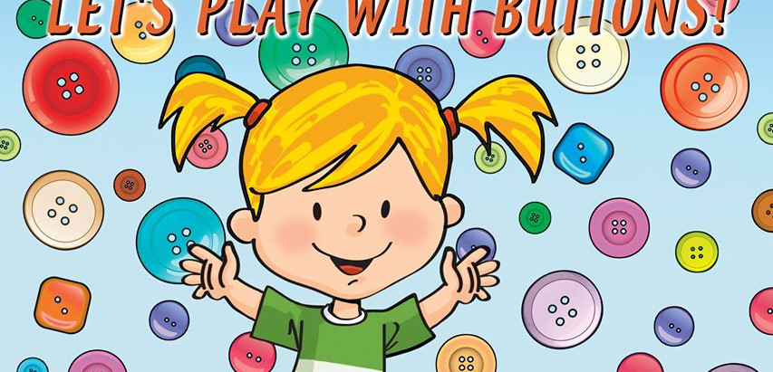 Let's Play With Buttons Baby's Brilliant Video Book
