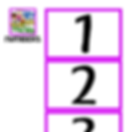 FOCUS BOARD MATERIALS - NUMBERS