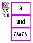 Weekly-Focus-Sight-Words-Dolch-Pre-Kinde