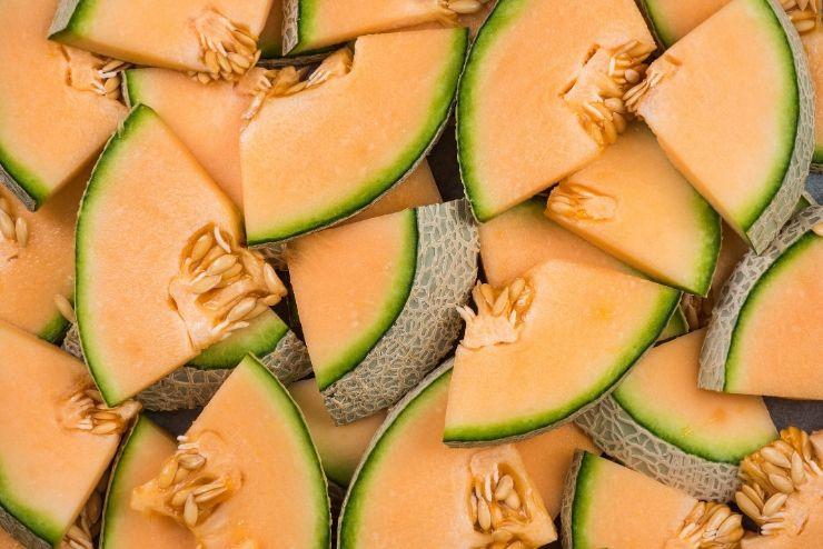 cząstki melona