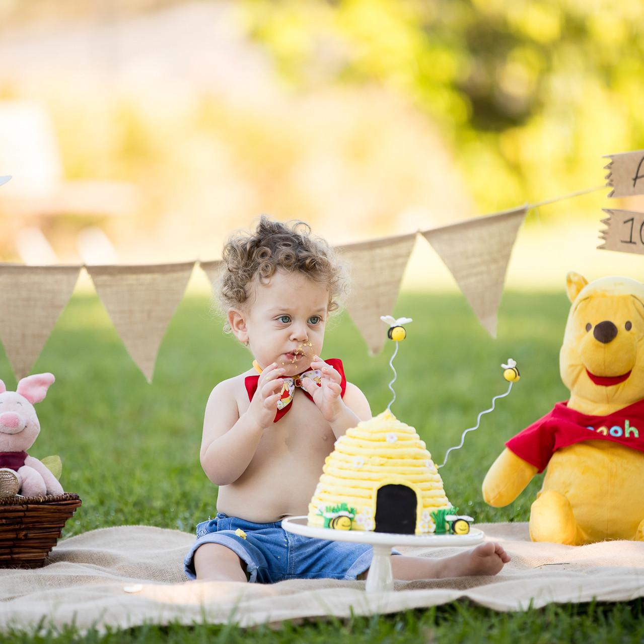 boy outdoor cake smash sydney