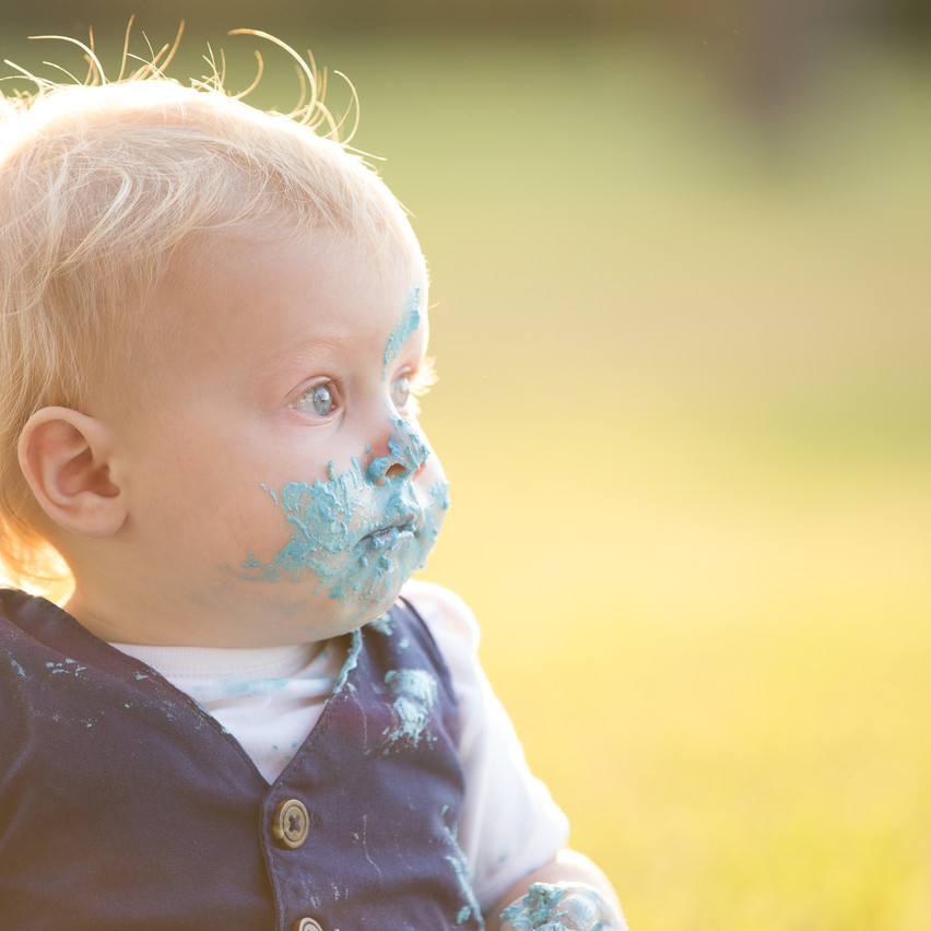 baby boy outdoor cake smash sydney