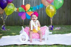 1st Birthday Samantha Bryce