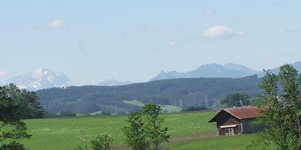 Fastenwandern nach Buchinger in Oberbayern (5-Seen-Land) (2)