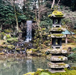 Kenrokuen in Kanazawa - also known as one of Japan's most celebrated gardens