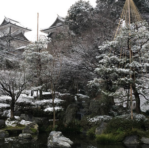 Winter Wonderland at Kanazawa Castle