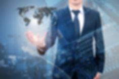 Double exposure of professional business