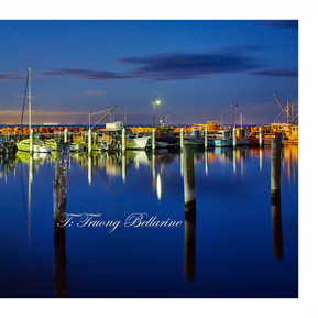 Portarlington Pier at Night