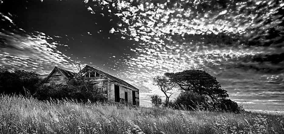 Old House in Bellarine B&W
