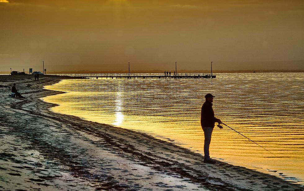 Fishing in Portarlington