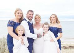 Bellarine Wedding  Group Photo