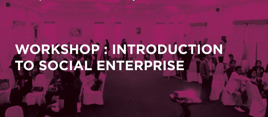 Introduction to Social Enterprise workshop