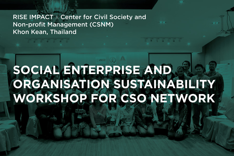 Social Enterprise and Organisation Sustainability Workshop for CSO