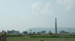 Rural UP from the Yamuna Expressway