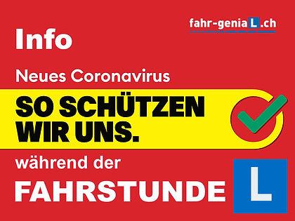 Fahrstunden Info Corona Fahrschule Gerry Nischler fahr-genial.ch