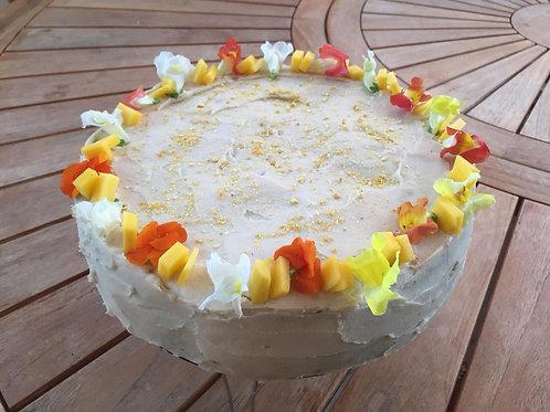 Tarta de Mango y Maracuya