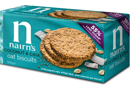 Nairn's Coconut and Chia Biscuits 200g