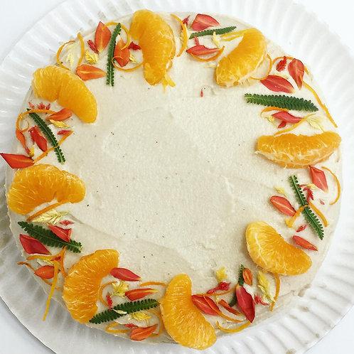Tarta de Naranja y Zanahoria