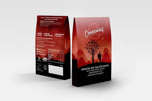 Conscious Chocolate Salted Dates 50g