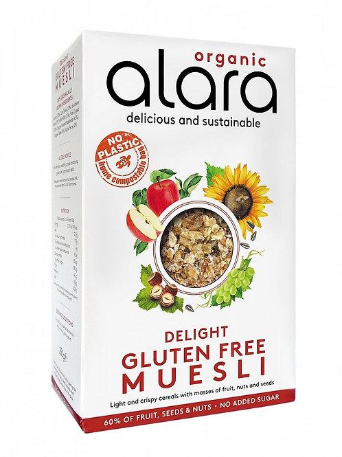 Alara Organic - Delight Gluten Free Muesli 450g
