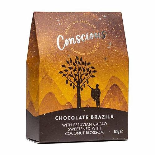 Conscious Chocolate - Chocolate Brazils 50g