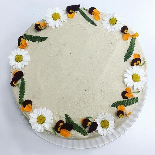 Tarta de Pera y Canela