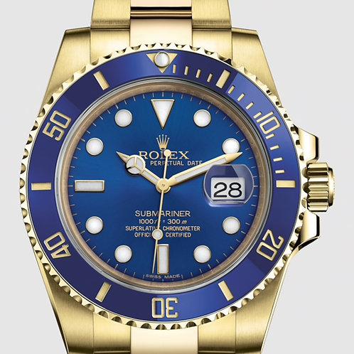 Rolex 116618 Submariner Gold