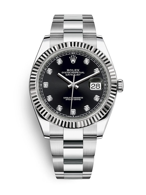 Rolex Oyster Perpetual Datejust 41 Watch 126334