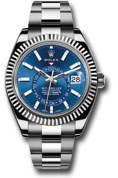 Rolex Sky-Dweller 326934 Blue Index