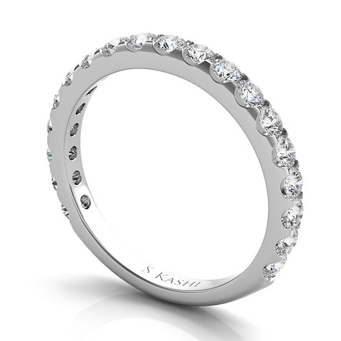 Style # EN7006-BWG  0.86 ctw. WHITE GOLD MATCHING BAND