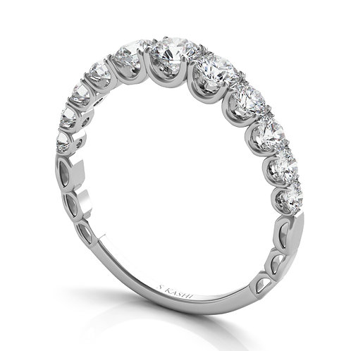 Style # EN7583-BWG  0.90 ctw. WHITE GOLD MATCHING BAND