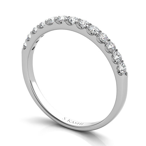Style # EN6593-BWG  0.34 ctw. WHITE GOLD MATCHING BAND