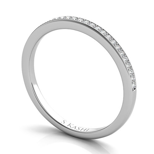 Style # EN7268-BWG  0.12 ctw. WHITE GOLD MATCHING BAND